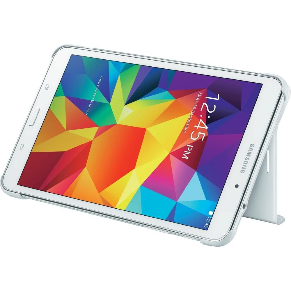 Samsung Tab Book Cover White : Galaxy tab book cover case buytec